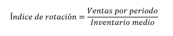 Indice De Rotacion De Inventarios
