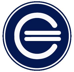 Isotipo Completo Azul Y Blanco