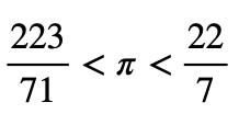 Límite Inferior Y Superior De Pi