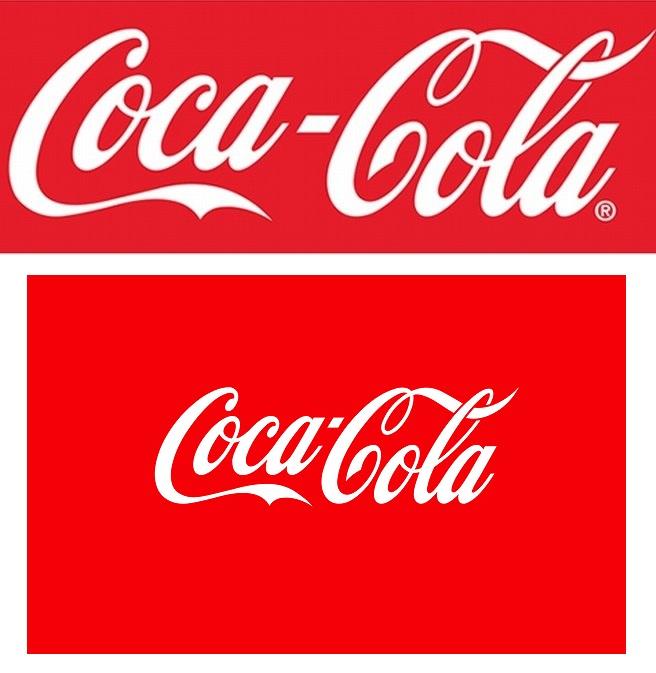 Logo Coca Cola Efecto Mandela