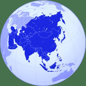 MAPA POLÍTICO ASIA