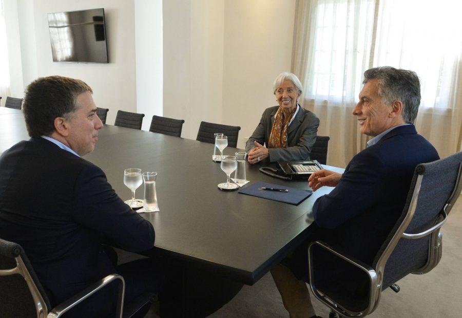 Macri Y Lagarde En Olivos 01