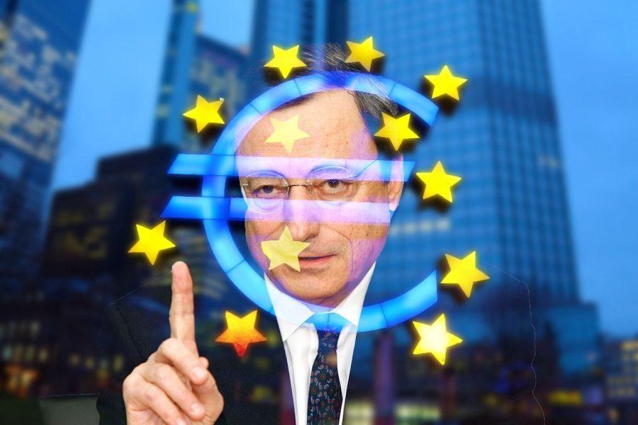 Mario Draghi Recesión