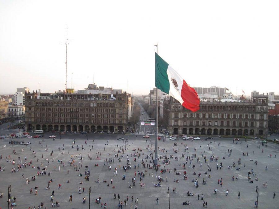 Mexico Bandera Plaza