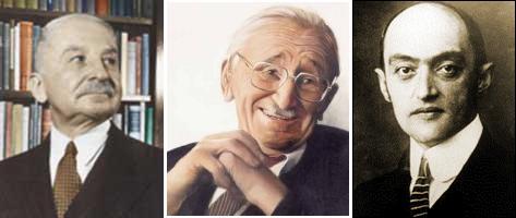 Mises Hayek Shumpeter