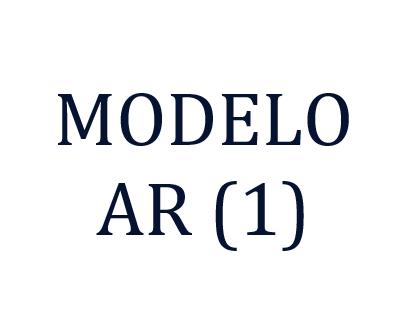 Modelo Ar (1) Definicion
