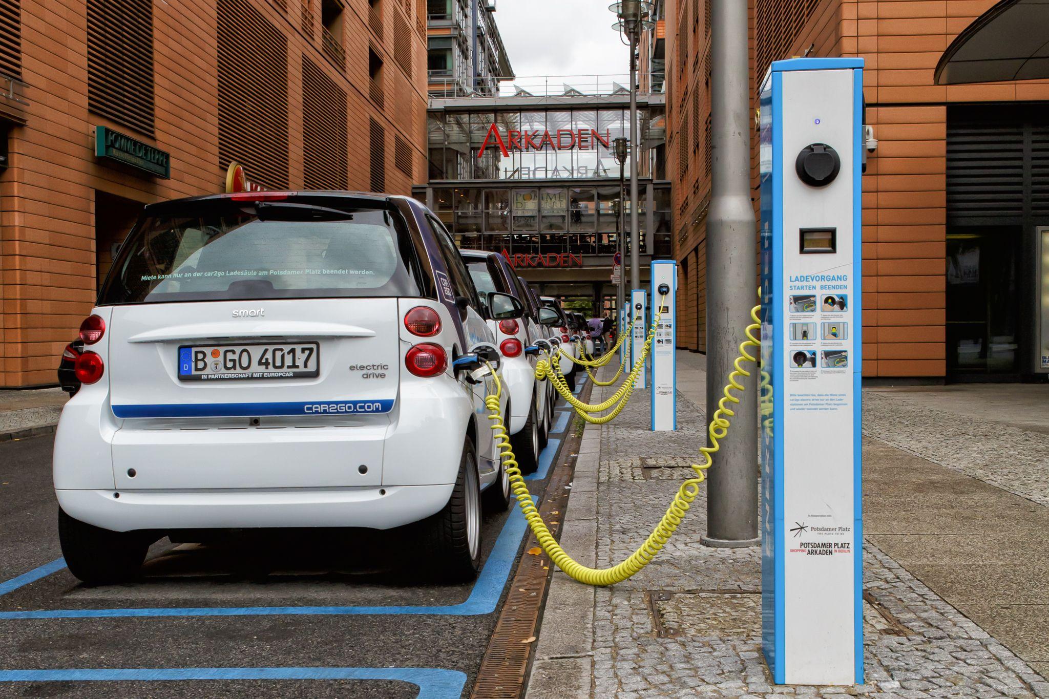 Movilidad Compartida Car2go Berlin
