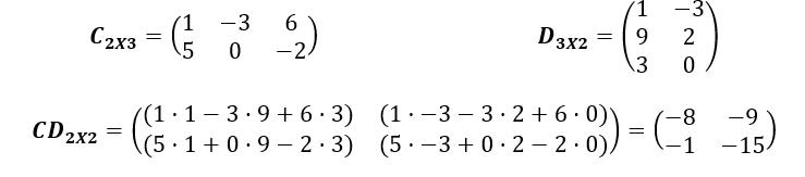 Multiplicacion De Matrices Ejemplo