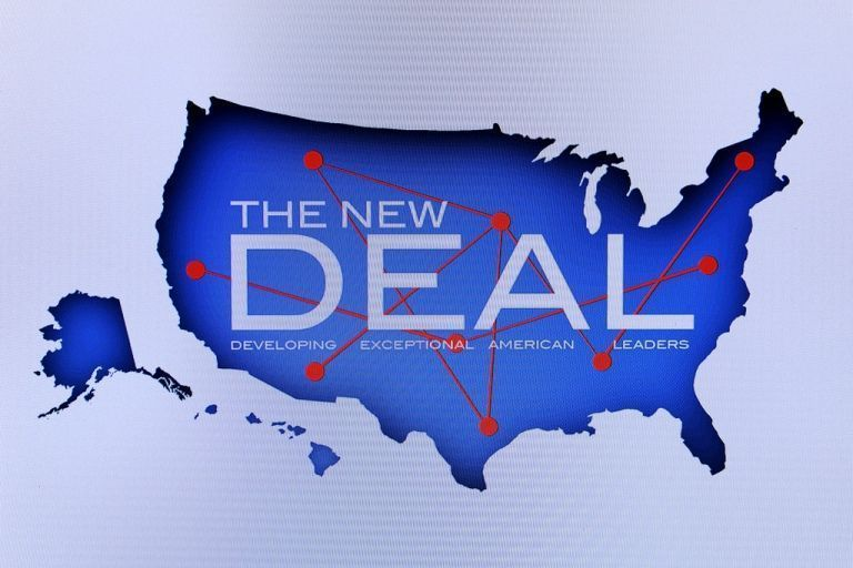 New Deal, La Salida De La Gran Depresión