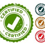 Certified And Approved Rubber Stamps Seal Set
