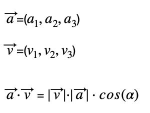 Producto Escalar En Definición Geométrica