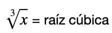 Raiz Cubica