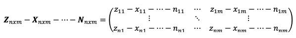 Resta De Matrices 1