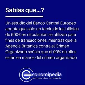 Billetes 500 euros