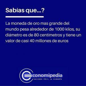 Moneda mas grande del mundo