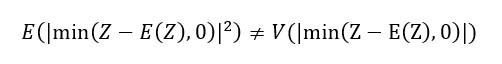 Semidesviacion Y Semivarianza Son Diferentes