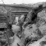 Soldado Británico En Las Trincheras Durante La Batalla Del Somme 1916