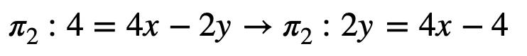 Solución Ejemplo Recta 2