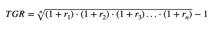Tasa Geometrica De Rentabilidad