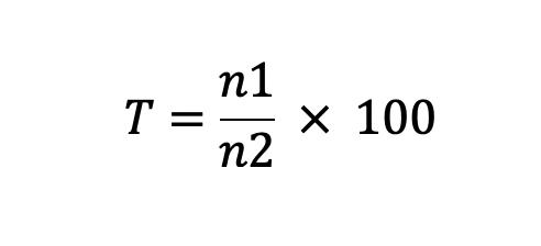 Tasa De Dependencia Fórmula