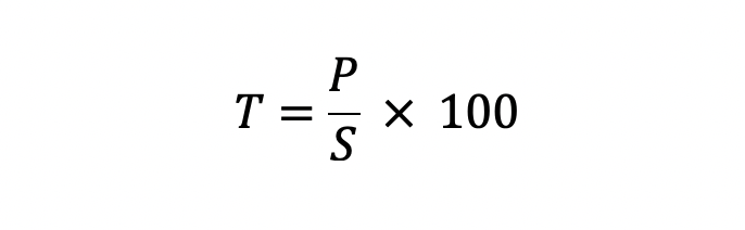 Tasa De Reemplazo Fórmula