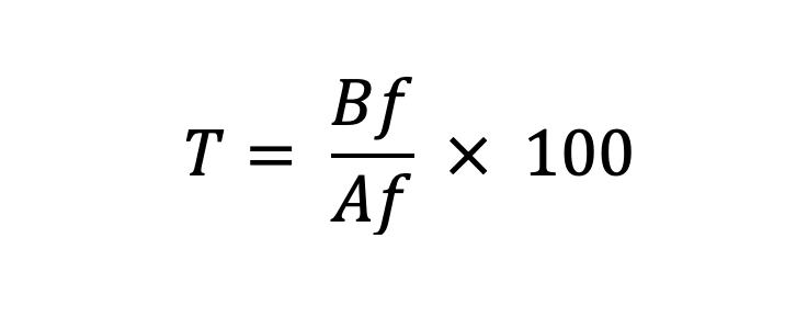 Tasa De Reposición Fórmula