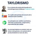 Taylorismo Qué Es