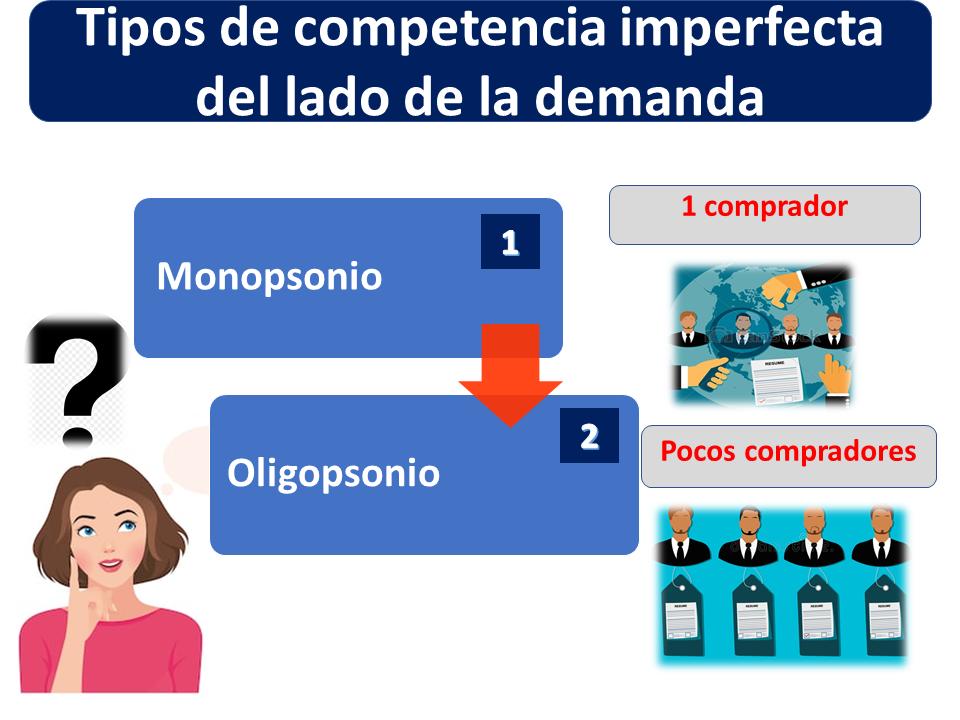 Tipos De Competencia Imperfecta Del Lado De La Demanda