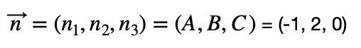 Vector Normal A Partir De La Ecuación Del Plano