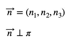 Vector Normal Al Plano