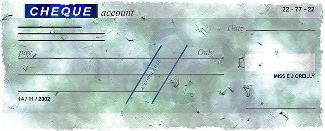 cheque cruzado