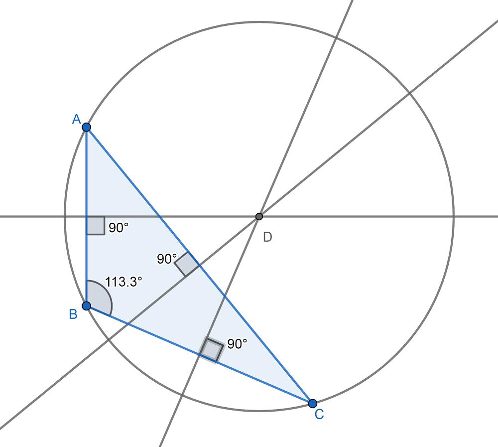 Circuncentro Triangulo Obtusángulo