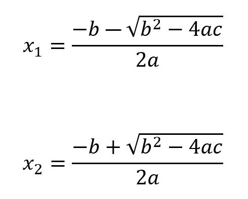 Ecuacion De Segundo Grado Solucion