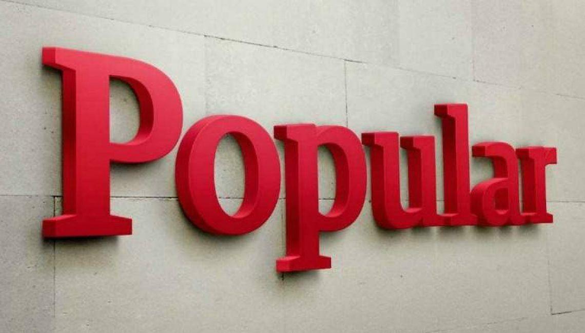Banco popular letras