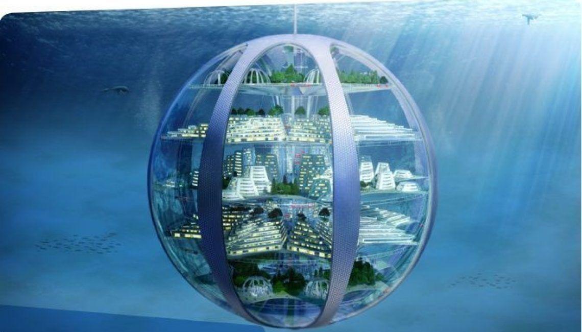 Cuidades bajo tierra mar futuro