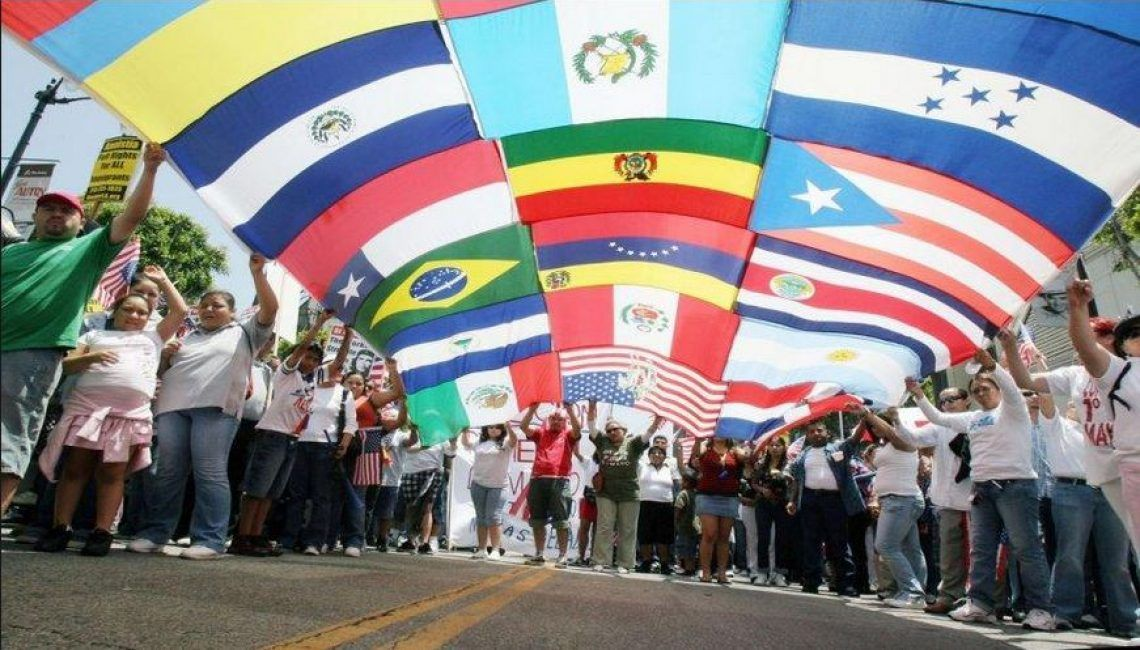 Latinoamericanos en California Estados Unidos