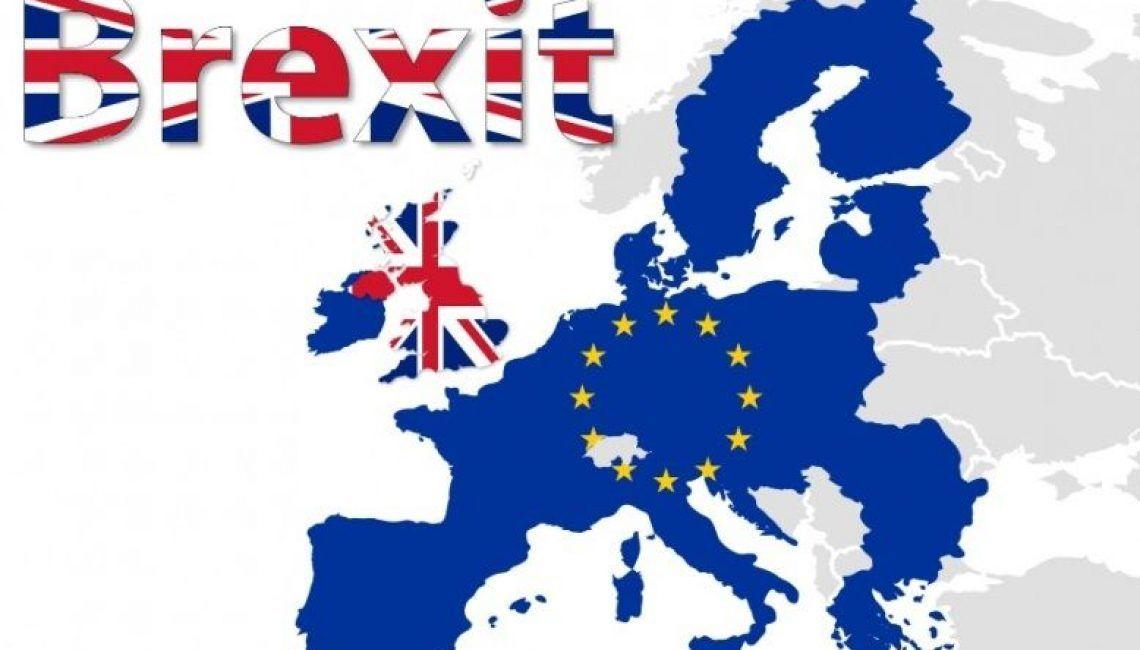 brexit mapa