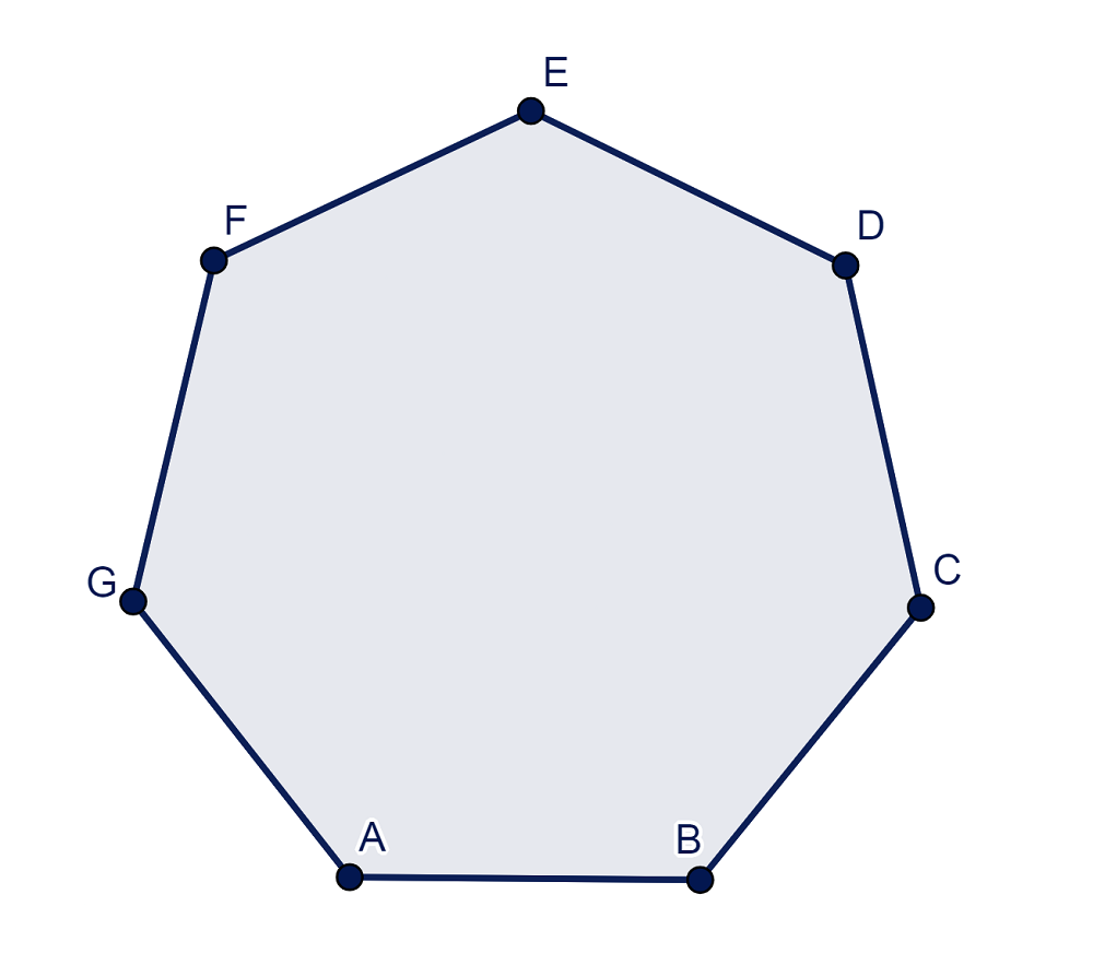 Heptagono Regular