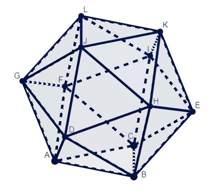 Icosaedro Regular