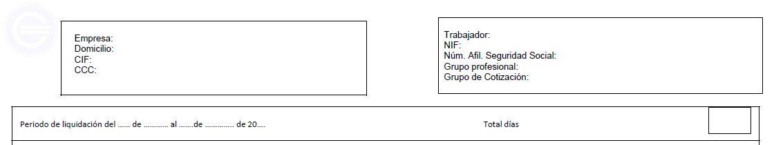 nomina cabecera
