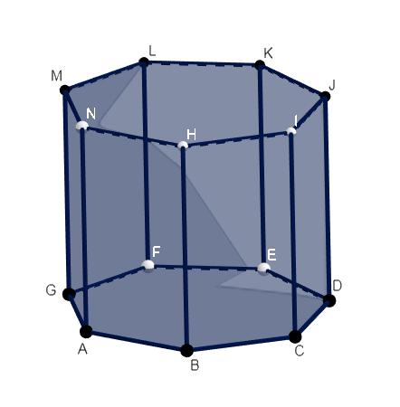 Prisma Heptagonal