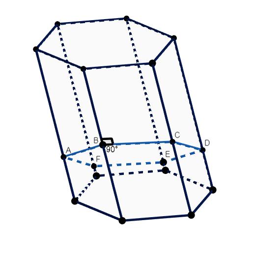 Prisma Hexagonal Oblicuo
