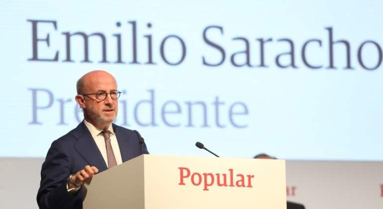 Saracho Emilio Presidente Banco Popular