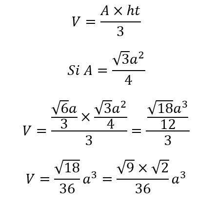Tetraedro Volumen 1