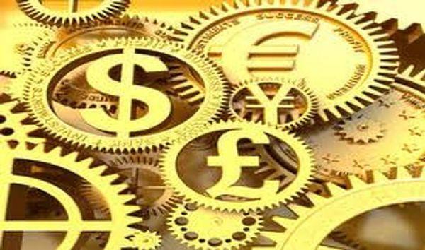 Iconos forex concepto de las divisas