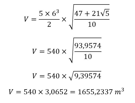Volumen Dodecaedro